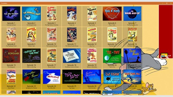 Tom and jerry kids games