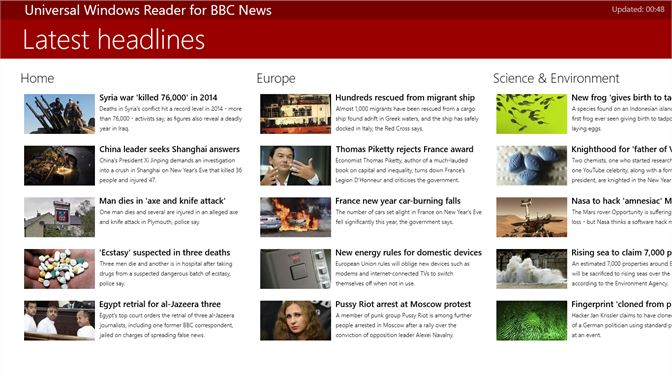 Get Universal Windows Reader for BBC News - Microsoft Store en-GH