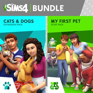 The Sims™ 4 Cats and Dogs Plus My First Pet Stuff Bundle Xbox One