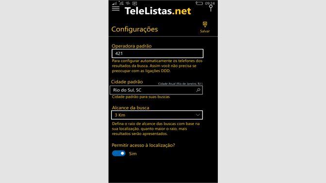 9446486f8 Baixar TeleListas.net - Microsoft Store pt-BR