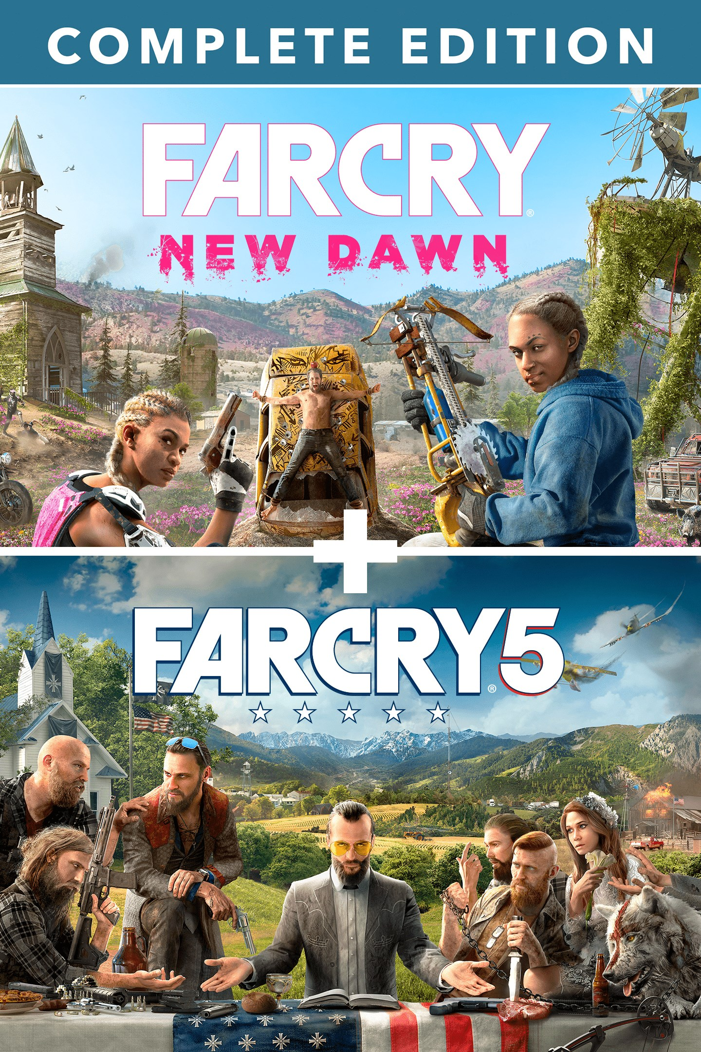 Buy Far Cry 5 Far Cry New Dawn Deluxe Edition Bundle
