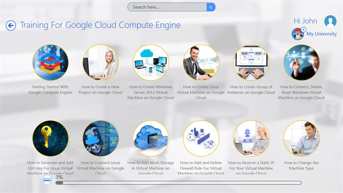 Get Training For Google Cloud Compute Engine by GoLearningBus