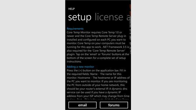 Buy Core Temp Monitor - Microsoft Store en-SL