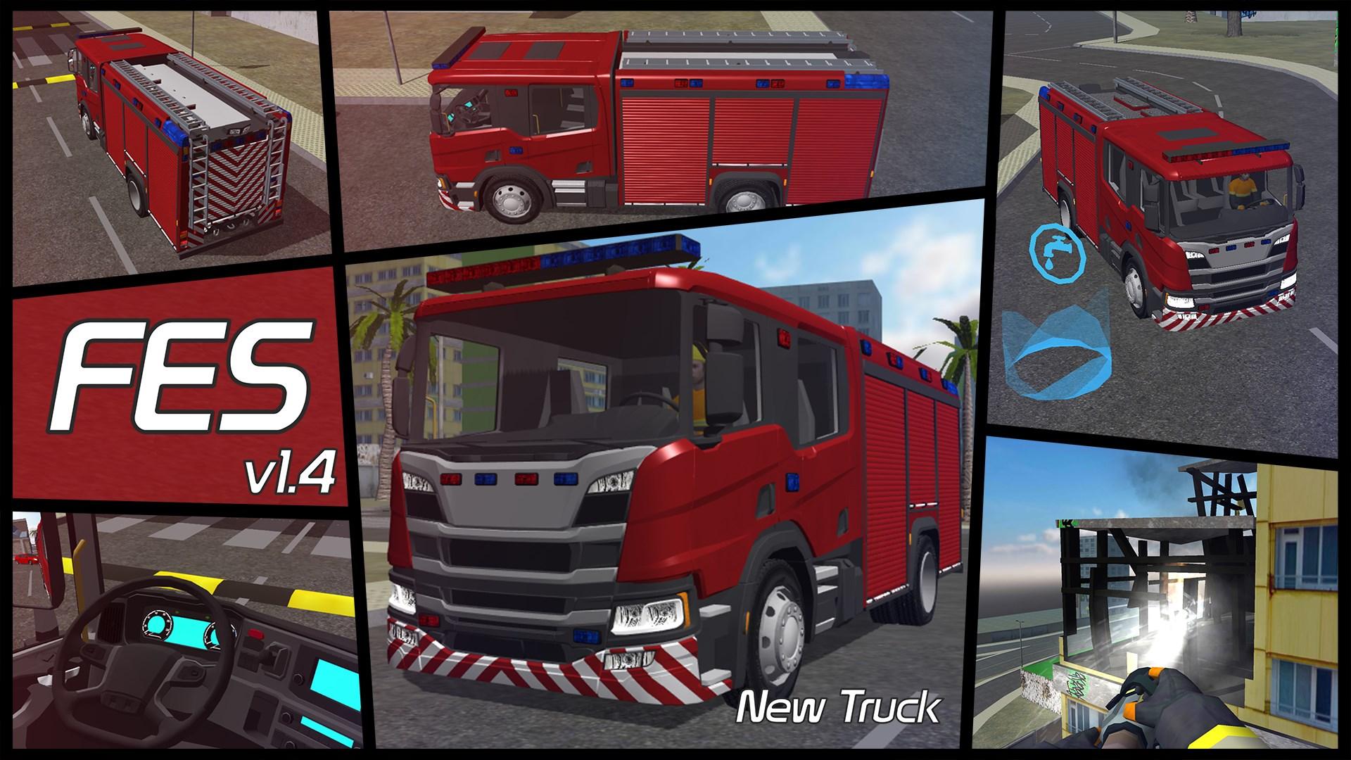 Get Fire Engine Simulator - Microsoft Store