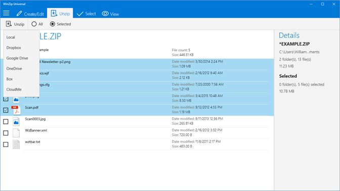Get WinZip Universal - Microsoft Store