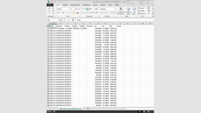 Buy Gpx files to Csv - Microsoft Store en-SA