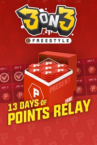 3on3 FreeStyle - 13 days of Points Relay