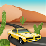 Desert Car Race Logo