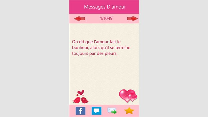Get Messages Damour Microsoft Store