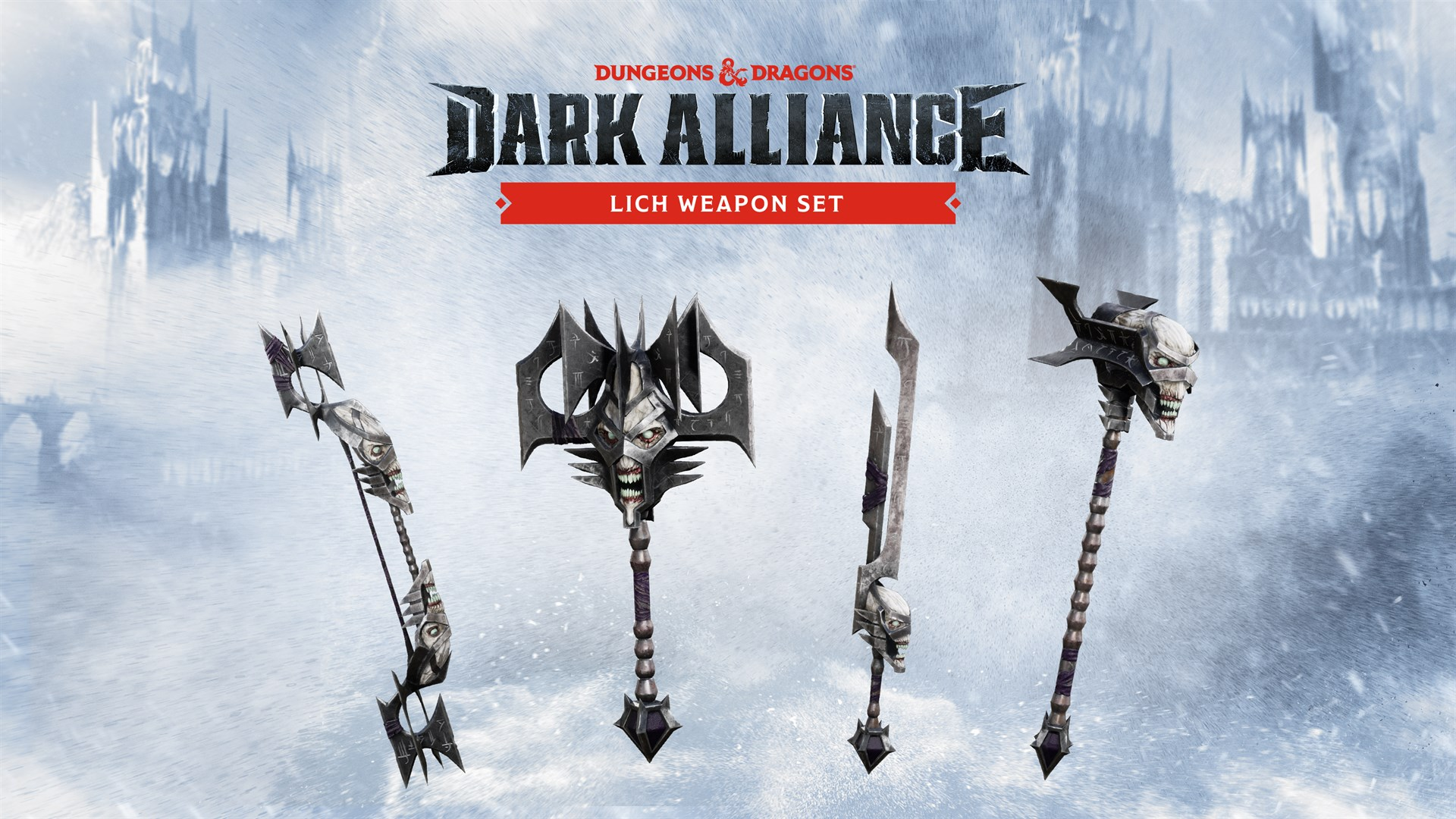 The Lich Weapon Set