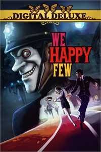 Carátula para el juego We Happy Few Digital Deluxe de Xbox 360