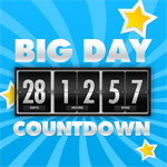 Buy Big Days of Our Lives Countdown Timer - Digital Event Count ...