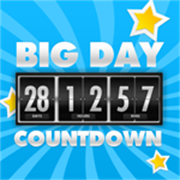 Buy Big Days of Our Lives Countdown Timer - Digital Event Count Down