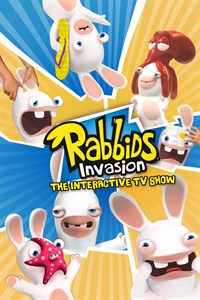 Carátula para el juego Rabbids Invasion : The Interactive TV Show de Xbox One