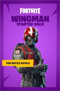 Carátula para el juego Fortnite Battle Royale - Wingman Starter Pack de Xbox 360