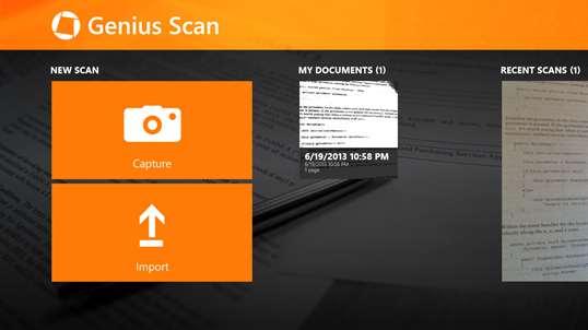 Genius Scan for Windows 10 PC Free Download - Best Windows 10 Apps