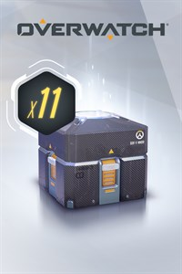 Carátula del juego Overwatch - 11 Anniversary Loot Boxes