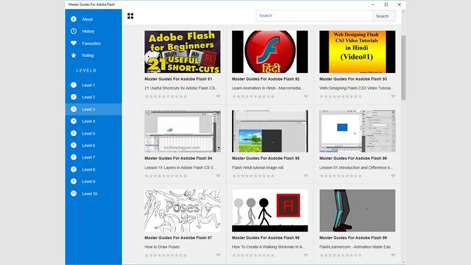 Comprar Master Guides For Adobe Flash - Microsoft Store es-ES