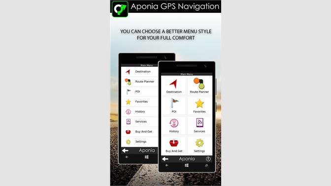 Get GPS Navigation & Map by Aponia - Microsoft Store