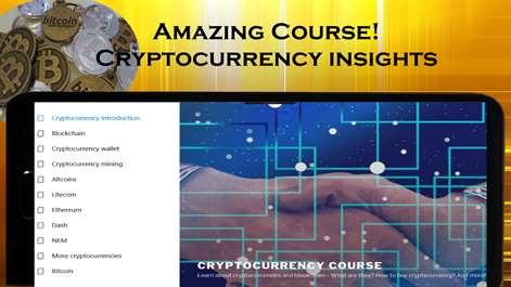 Cryptocurrency Course: Bitcoin, Litecoin, Eth, Ripple, Dash, Blockchain Screenshots 1