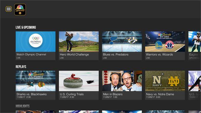 Get NBC Sports - Microsoft Store