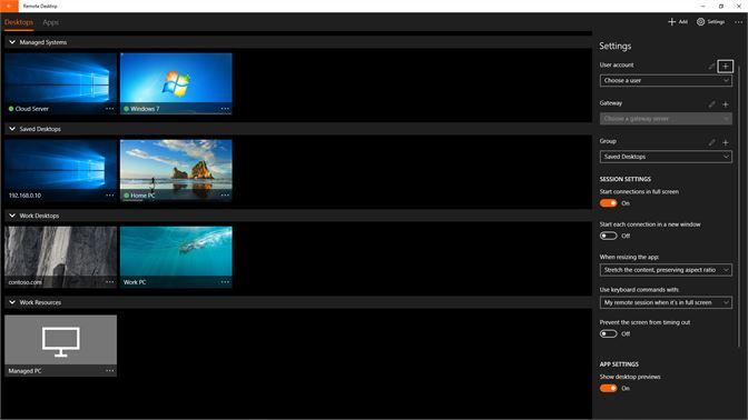 11f54c9d033 Get Microsoft Remote Desktop Preview - Microsoft Store