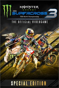 Carátula del juego Monster Energy Supercross 3 - Special Edition