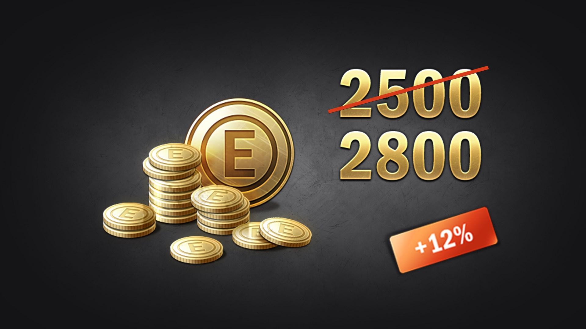Enlisted - 2500 Gold + 300 Bonus