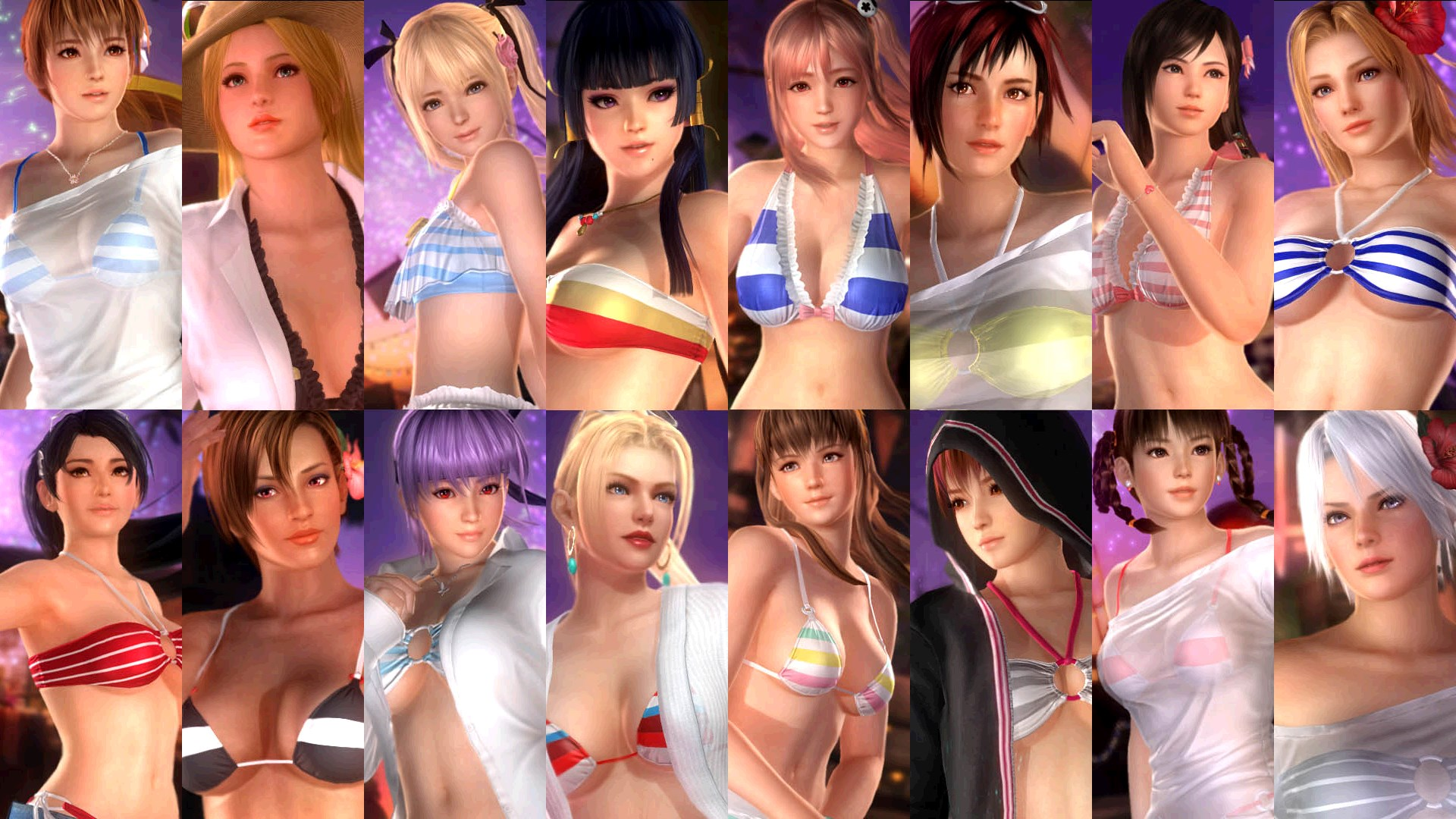 Limited Time Only! DOA5LR Hot Summer + Female Fighters