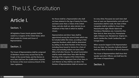 U.S. Constitution Screenshots 2