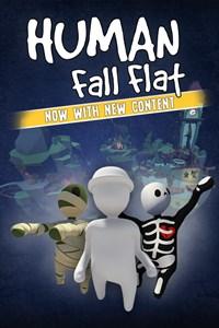 Carátula para el juego Human Fall Flat de Xbox 360