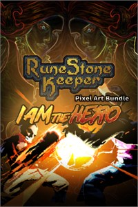 RuneStone Keeper and I am the hero PixelArt Bundle