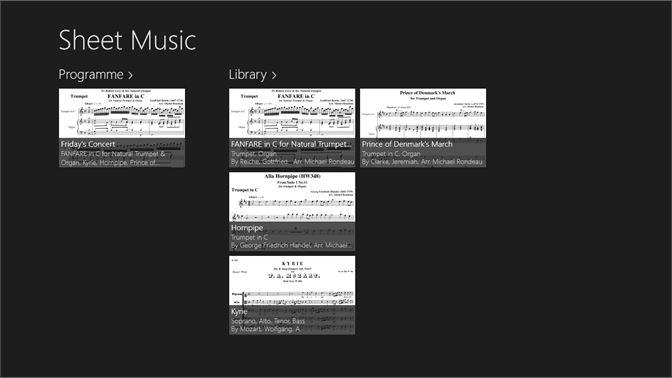 Get Sheet Music - Microsoft Store