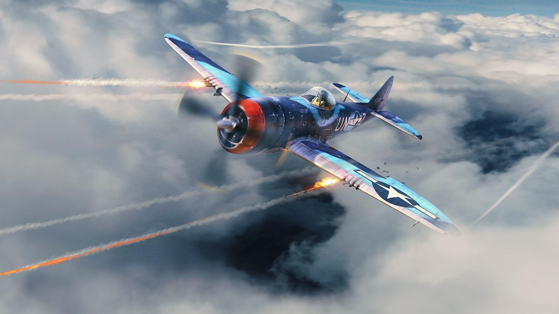War Thunder - Bostwick's P-47M-1-RE Thunderbolt Pack