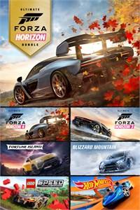 Pacote de Edições Supremas do Forza Horizon 4 e Forza Horizon 3