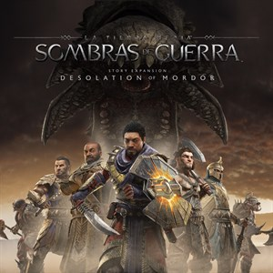 La expansión de historia La desolación de Mordor Xbox One