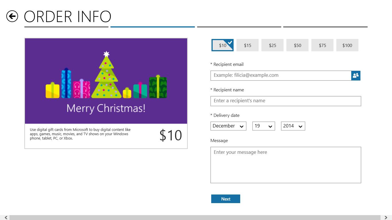 Buy Digital Gift Cards - Microsoft Store