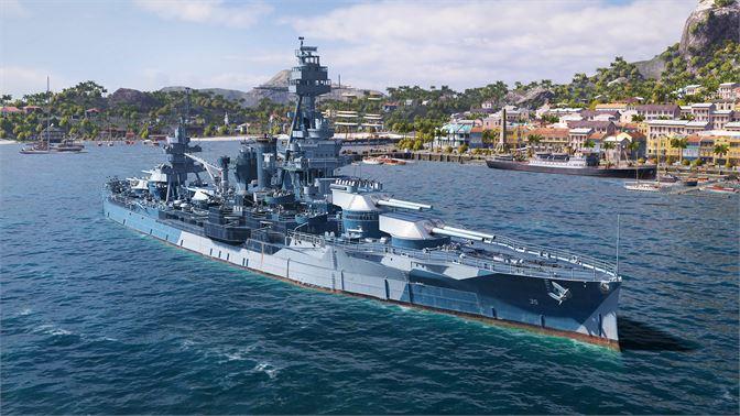 Buy World of Warships: Legends  Texas Marine - Microsoft Store