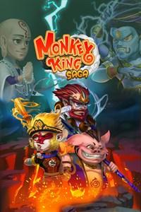 Carátula del juego Monkey King Saga