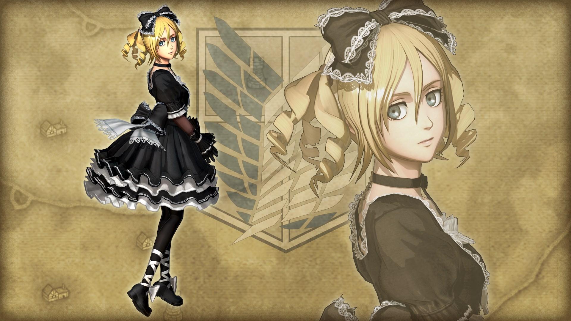 Costume supplémentaire pour Christa, adorable gothique
