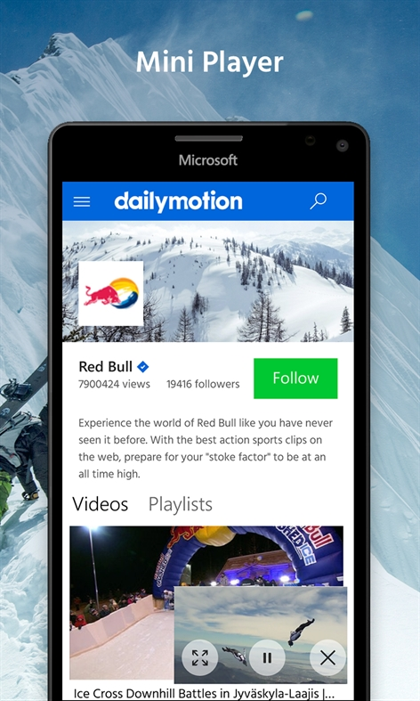 Dailymotion Capture d'écran
