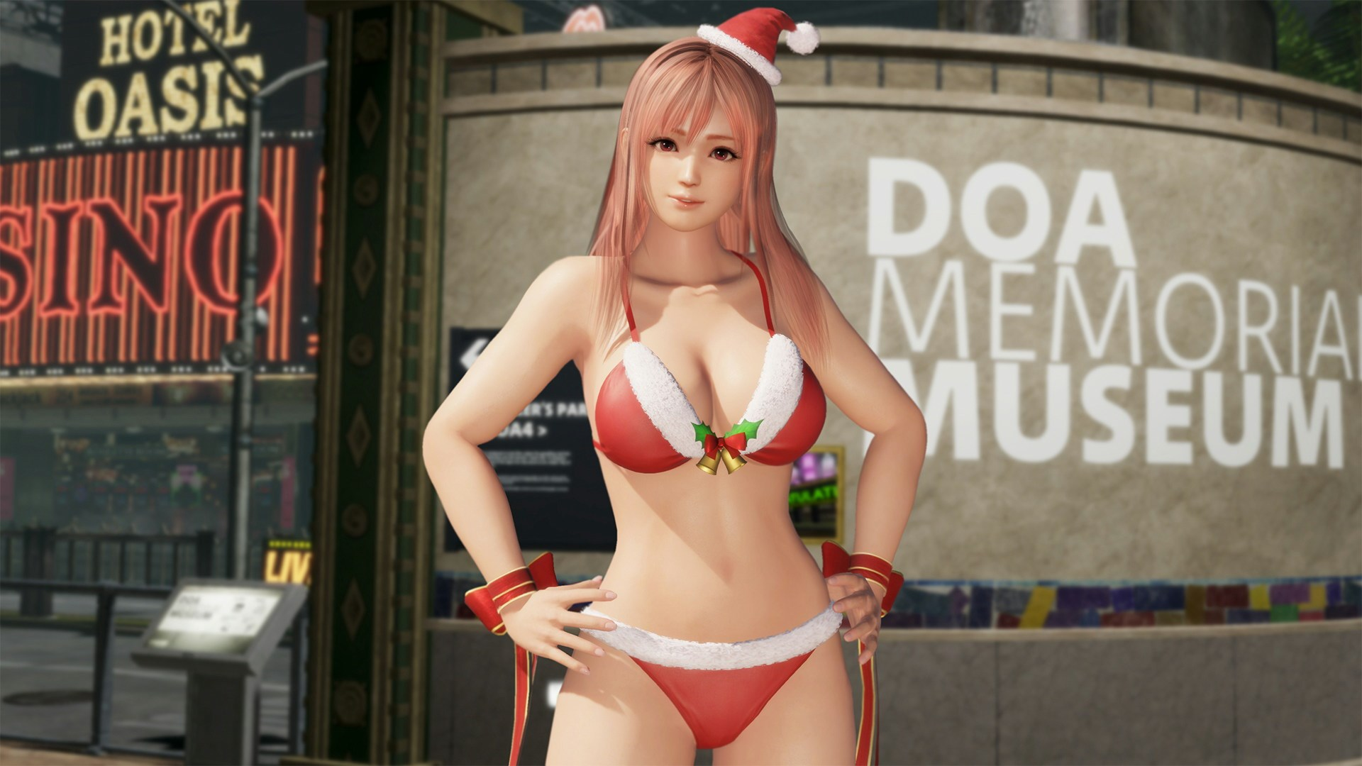 DOA6 Santa Bikini - Honoka