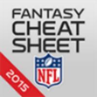 560615c6106 Buy NFL Fantasy Football Cheat Sheet & Draft Kit 2015 - Microsoft Store