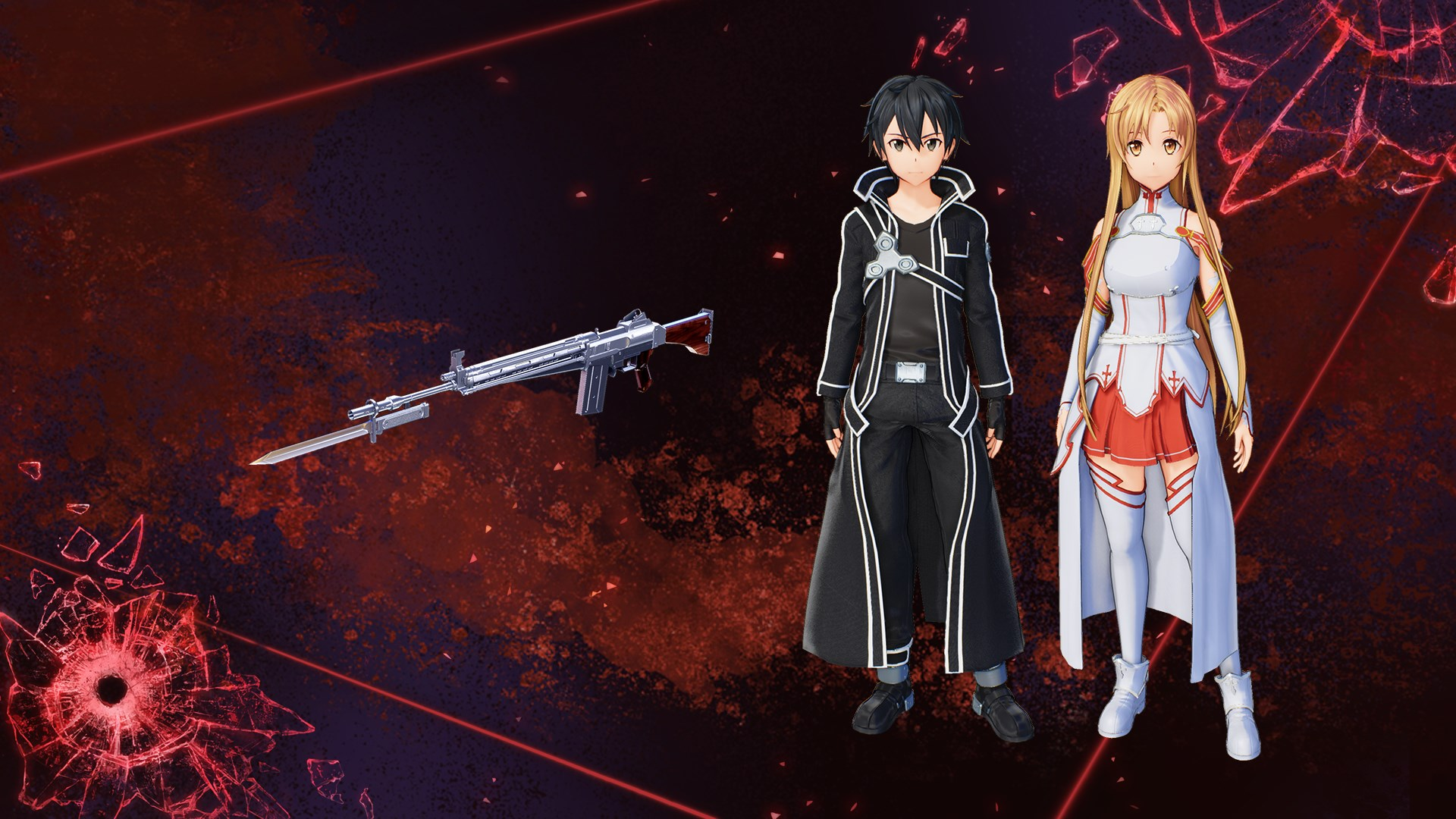 Buy SWORD ART ONLINE: FATAL BULLET SAO Costume and Weapon Pack - Microsoft  Store en-CA