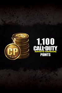 1,100 Call of Duty®: Infinite Warfare Points