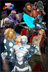 Carátula del juego Marvel vs. Capcom: Infinite - Avenging Army Costume Pack