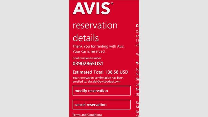 Get Avis Microsoft Store