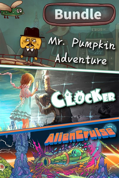 Clocker & Mr. Pumpkin Adventure & Alien Cruise Bundle