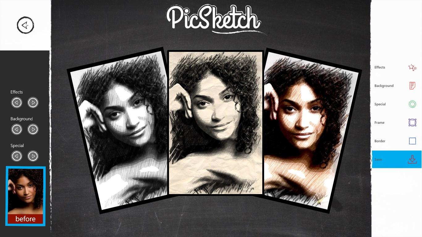 PicSketch for Windows 10