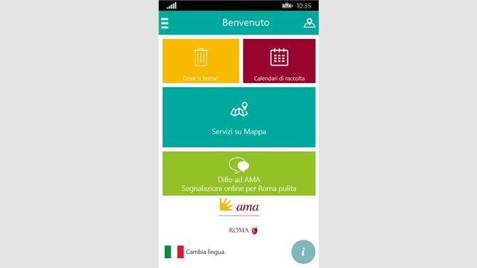 Calendario Raccolte Domenicali Ama.Acquista Ama Roma Microsoft Store It It